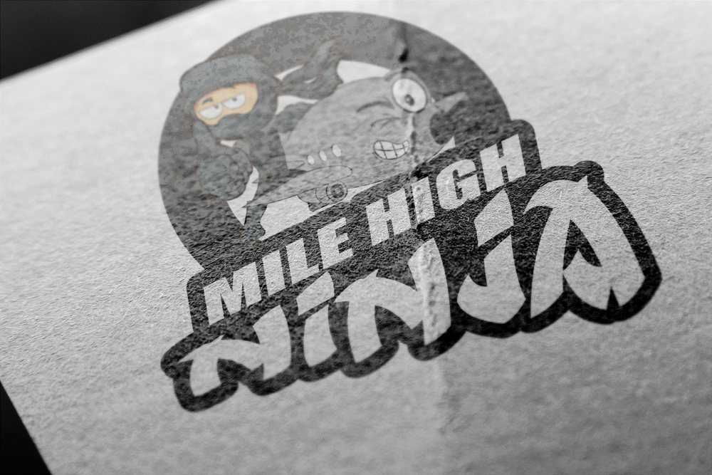 Mile High Ninja Sample #2 Logo
